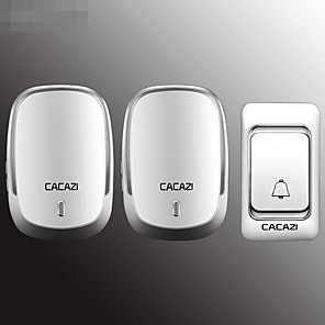 cheap Doorbell Systems-Wireless doorbell home new one for two long distance remote control old pager Smart doorbell