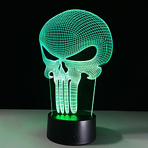 cheap 3D Night Lights-3D Nightlight Creative USB 1pc