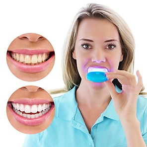 cheap Body Massager-1PC Dental Teeth Whitening Light LED Bleaching Teeth Accelerator For Whitening Tooth Cosmetic Beauty Health