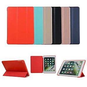 cheap iPad case-Case For Apple iPad Pro 9.7 / iPad Mini 3/2/1 / iPad 4/3/2 Auto Sleep / Wake Up / Magnetic Full Body Cases Solid Colored Hard TPU / PU Leather for iPad Pro 9.7'' / iPad (2017) / iPad Pro 10.5