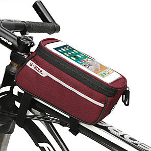 cheap Bike Handlebar Bags-Cell Phone Bag 6.2 inch Cycling for iPhone 8/7/6S/6 iPhone 8 Plus / 7 Plus / 6S Plus / 6 Plus iPhone X Black Red Dark Gray Bike / Cycling