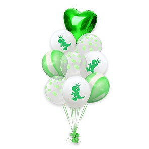 cheap Christmas Decorations-St Patrick's Day Pride Green Balloon Irish Pub Decoration