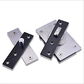 cheap Doorbell Systems-A section of heaven and earth hinges without springs and shafts 360 degrees door hinge invisible shaft
