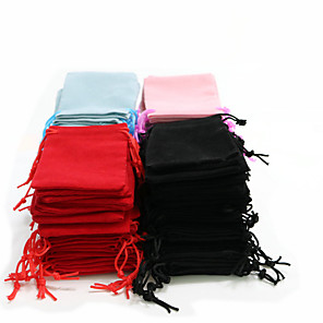 cheap Beads & Jewelry Making-Jewelry Bags - As Per Picture 7 cm 5 cm 0.2 cm / 50pcs