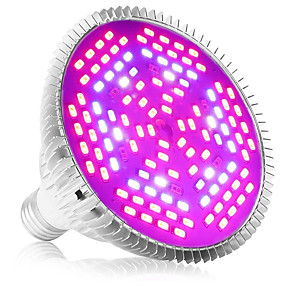 cheap Plant Growing Lights-Grow Light LED Plant Growing Light 80 W 4000-5000 lm 120 LED Beads Full Spectrum For Greenhouse Hydroponic White Red Blue 85-265V Vegetable Greenhouse
