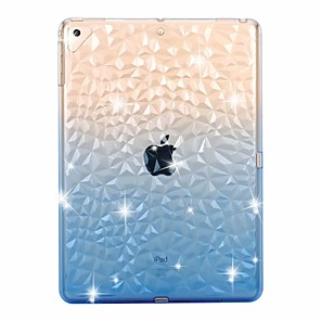cheap iPad case-Case For Apple iPad mini 5 /New Air(2019) Transparent / Shockproof 3D Back Cover Color Gradient Soft TPU for iPad Pro 9.7'' / iPad (2017) /(2018) Pro 10.5/iPad 2/3/4/ Air 2/Pro 11''/mini 1/2/3/4