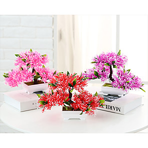 cheap Artificial Plants-Decorative Objects, Plastic Modern Contemporary for Home Decoration Gifts 1pc