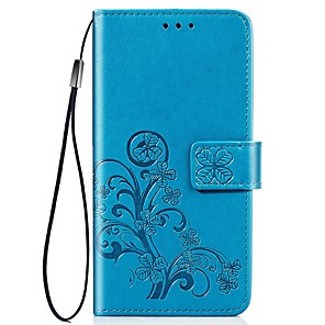 cheap iPhone Cases-Case For Apple iPhone 11 / iPhone 11 Pro / iPhone 11 Pro Max Wallet / Card Holder / Shockproof Full Body Cases Butterfly / Solid Colored PU Leather