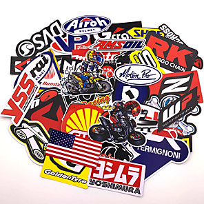 cheap Car Body Decoration & Protection-80pcs Mixed funny brand DIY Sexy stickers for Home decor laptop sticker decal fridge skateboard doodle Car Motorcycle Bicycle