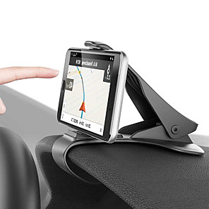 cheap Phone Mounts & Holders-Car Holder Clip Mount Dashboard Car Phone Holder 360 Rotatable Stand Mount Display GPS Bracket