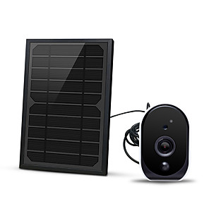 cheap Testers & Detectors-1080P With 18650 Battery 5W Solar panel Low Battery Wifi Ip Camera