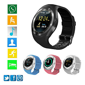 cheap Smartwatches-Y1S Smart Watch BT Fitness Tracker Support Notify/ Heart Rate Monitor Sports Smartwatch Compatible Samsung/ Android/ Iphone