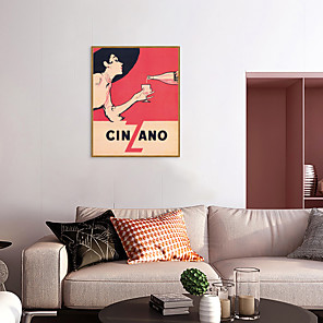 cheap Framed Arts-Framed Art Print Framed Set - Abstract People PS Illustration Wall Art