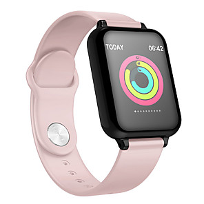 cheap Smartwatches-B57 Smart Watch Bluetooth Fitness Tracker Support Notify/ Heart Rate Monitor Sports Smartwatch Compatible with Apple/ Samsung/ Android Phones