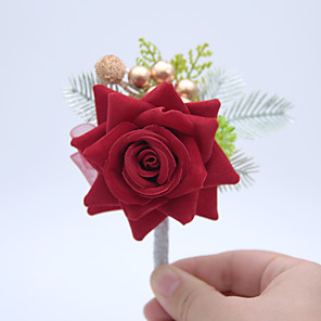"""cheap Wedding Gifts-Wedding Flowers Boutonnieres Wedding / Special Occasion Other Material 4.72""""(Approx.12cm)"""