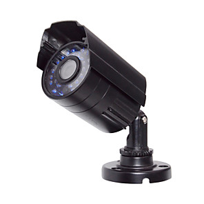 cheap CCTV Cameras-1080P/200W HD Waterproof Gun Type Simulation (30 Lights Infrared) Photo 1/3 Inch Cmos Bullet Cameras / Simulated Camera / Waterproof Camera H.264 Ip65