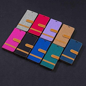 cheap Other Phone Case-Case For Nokia Nokia 5.1 / Nokia 4.2 / Nokia 3.1 Wallet / Card Holder / with Stand Full Body Cases Tile Hard Textile