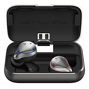 cheap TWS True Wireless Headphones-Mifo O5 True Wireless Bluetooth 5.0 In-Ear Earphone With Charging Box Stereo Bass TWS Hi-Fi Sound Sports Earbuds IPX7 Waterproof