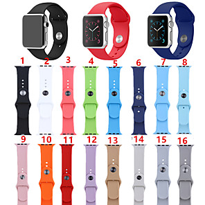 cheap Smartwatch Bands-Smartwatch Band for Apple Watch Series 5/4/3/2/1 Silicone Sport Band Fashion Soft iwatch Strap