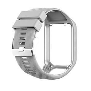 cheap Smartwatch Bands-Watch Band for TomTom Adventurer / TomTom Golfer 2 / TomTom Spark 3 TomTom Sport Band Silicone Wrist Strap