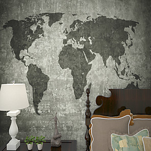 billige Tapet-bakgrunns / Veggmaleri / Wall Cloth Lerret Tapetsering - selvklebende nødvendig Art Deco / Flise / Mønster