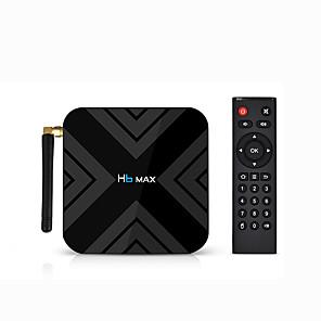 cheap TV Boxes-H6 MAX Android 9.0 Allwinner H6 4GB 32GB Quad Core