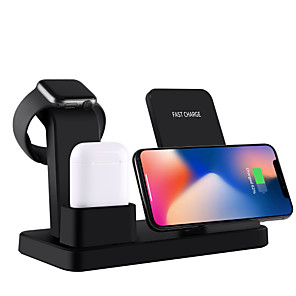 cheap Wireless Chargers-Wireless Charger USB Charger USB 5 A DC 9V / DC 5V for Apple Watch Series 4 / Apple Watch Series 3 / Apple Watch Series 2 iPhone 11 / iPhone 11 Pro / iPhone 11 Pro Max