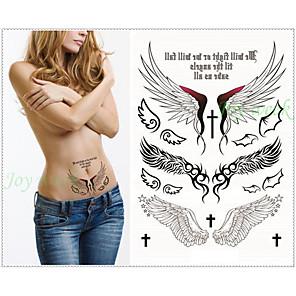 cheap Tattoo Stickers-1 pcs Temporary Tattoos Waterproof / Non Toxic / Tribal Paper Tattoo Stickers / Lower Back
