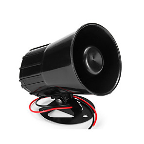 cheap Car Audio-Car Air Horn 12V Claxon Moto 135dB Loud Dual Trumpet Compressor Complete Set