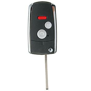 cheap Car Pendants & Ornaments-3/2Panic Buttons Flip Shell Case Foldable Car Remote Control Key for HONDA