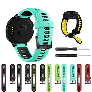 cheap Smartwatch Bands-Smartwatch Band for Forerunner235/630/735/735XT/220/230/620 / ApproachS20/S5/S6 Garmin Strap Silicone Sport Fashion Soft Band