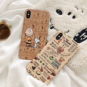cheap iPhone Cases-Case For Apple iPhone XS / iPhone XR / iPhone XS Max Pattern Back Cover Cartoon Hard Plastic