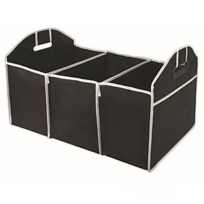 cheap Car Body Decoration & Protection-Foldable Car Trunk Organizer Bag Portable Multi Compartment Truck Van SUV Storage Basket Auto Tools Organiser