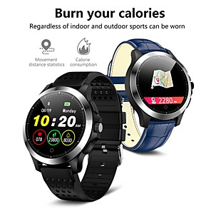 cheap Smartwatches-W8 Smart Watch BT Fitness Tracker Support Notify/ECG/ Heart Rate Monitor Sports Smartwatch Compatible Samsung/ Android/ Iphone