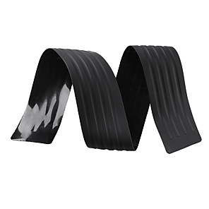 cheap Car Body Decoration & Protection-104cm PVC Rubber Rear Bumper Sill Protector Plate Cover Guard Pad Moulding for VW/Audi/BMW SUV