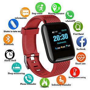 cheap Cell Phones-D13S Smart Watch BT Fitness Tracker Support Notify/ Heart Rate Monitor/Blood Pressure Sports Smartwatch Compatible Samsung/ Android/ Iphone
