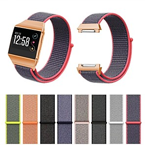 cheap Smartwatch Bands-Fitbit Ionic Bands Breathable Comfortable Adjustable Closure Wrist Replacement Nylon Velcro WristBands for Fitbit Ionic