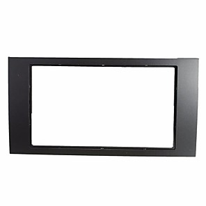 cheap DIY Car Interiors-Car Stereo Panel Plate 2DIN Fascia Panel Adapter For 06-on Ford Focus Transit