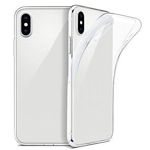 cheap iPhone Cases-Case For iPhone XS Max  XS Slim Clear Soft TPU Cover Support Wireless Charging for iPhone XR 8 Plus 8 7 Plus 7 6 Plus 6