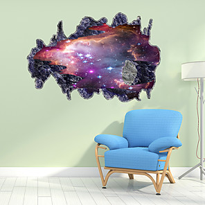 cheap Wall Stickers-Creative Starry Sky Wall Stickers - Words &amp Quotes Wall Stickers Characters Study Room / Office / Dining Room / Kitchen
