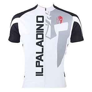 cheap Cycling Jersey & Shorts / Pants Sets-ILPALADINO Men's Short Sleeve Cycling Jersey Polyester Purple Yellow Red Patchwork Bike Jersey Top Mountain Bike MTB Road Bike Cycling Breathable Quick Dry Ultraviolet Resistant Sports Clothing