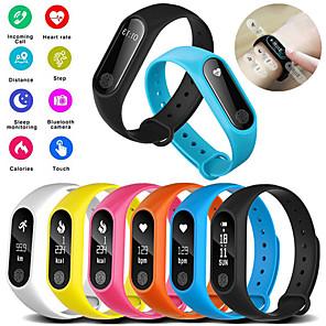 cheap Smartwatches-M2 Smart Bracelet Watch Waterproof Sport Heart Rate Monitor Smartband Pedometer Calories Sleep Tracker Bluetooth Smart Watch