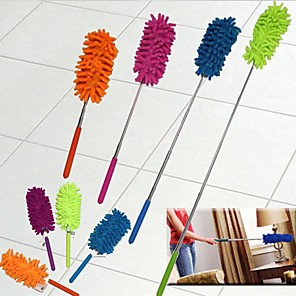 cheap Health&Household-Creative Stretch Extend Microfiber Dust Shan Adjustable Feather Duster Household Dusting Brush Cars Cleaning Kitchen Accessories