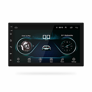 billige Lydanlæg til bilen-chelong 7200C 7 inch 2 Din Android 8.1 Bil MP5 Player GPS / Indbygget bluetooth / Ratstyring for Universel RCA Support MPEG / AVI / MOV mp3 / WAV / OGG jpeg / Stereo Radio