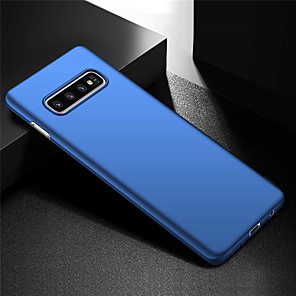 cheap Samsung Case-Ultra Thin Anti Fingerprint and Minimalist Hard PC Phone Case for Samsung Galaxy S10 / Galaxy S10 Plus / Galaxy S10 E / Galaxy S10 5G