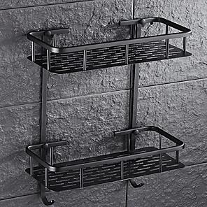cheap Towel Bars-Bathroom Shelf Creative / Multifunction Contemporary Metal 1pc Wall Mounted