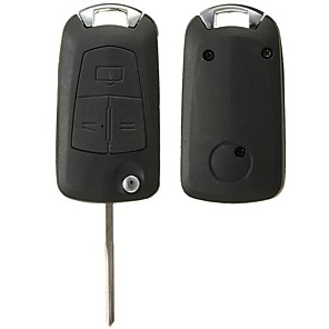 cheap Car Pendants & Ornaments-3 Buttons Remote Flip Key Fob For Vauxhall/OPEL Astra Vectra Zafira No Battery
