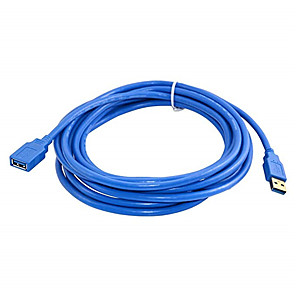 cheap USB Cables-3m fast speed usb 3.0 extension cable usb cable male to female data sync cord