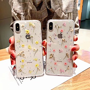 cheap iPhone Cases-iPhone Case For XR XS Max goddess anti-fall fashion flower for Apple 8plus 7plus