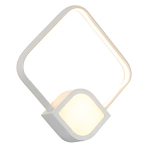 cheap Indoor Wall Lights-Creative Modern Contemporary Flush Mount wall Lights Study Room / Office / Shops / Cafes Acrylic Wall Light Generic 18 W